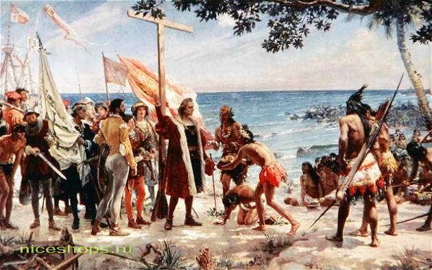 Резултат с изображение за Колумб открива остров Доминика.